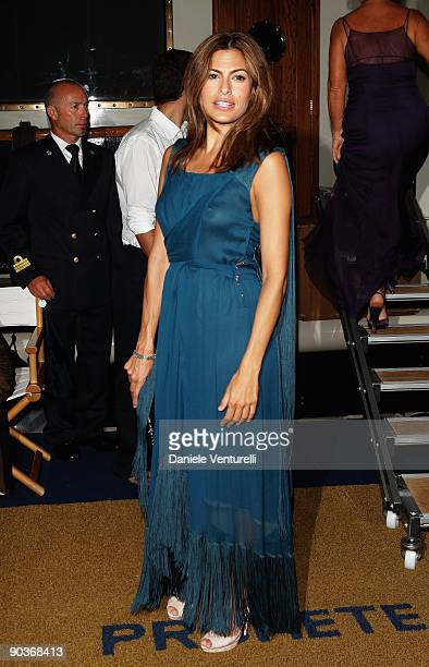 Eva Mendes attends the 'Bad Lieutenant Port Of Call New Orleans' Party during the 66th Venice Film Festival on September 4 2009 in Venice Italy