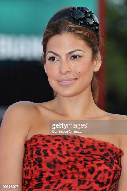 Eva Mendes attends the Opening Ceremony and Baaria Premiere at the Sala Grande during the 66th Venice International Film Festival on September 2 2009...