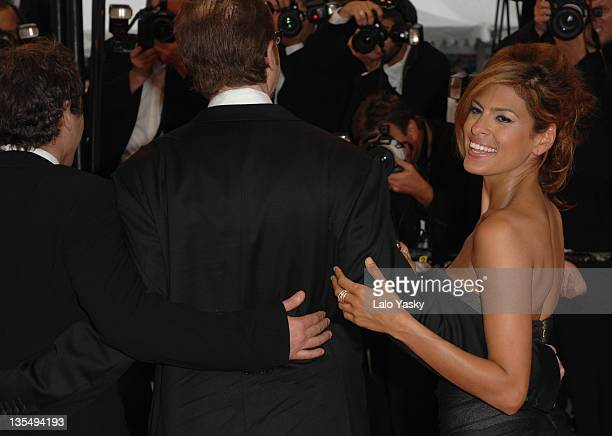 "Eva Mendes during 2007 Cannes Film Festival - ""We Own The Night"" Premiere at Palais des Festivals in Cannes, France."