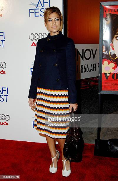 Eva Mendes during AFI Fest 2006 Presented by Audi Hosts a Tribute to Penelope Cruz and a Presentation of Volver at ArcLight Theater in Hollywood...