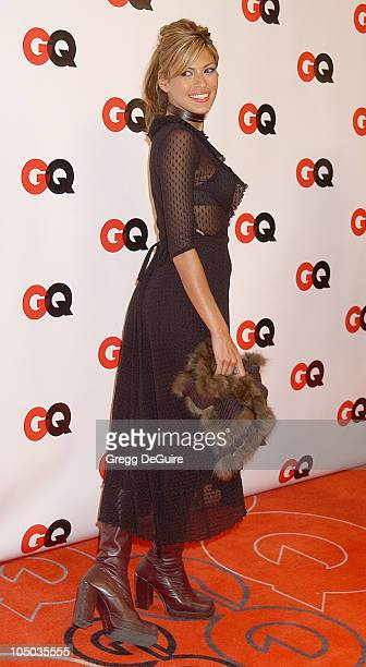 Eva Mendes during GQ Honors Tinseltown with the Unveiling of the GQ Annual Hollywood Issue at GQ Lounge at White Lotus in Hollywood California United...