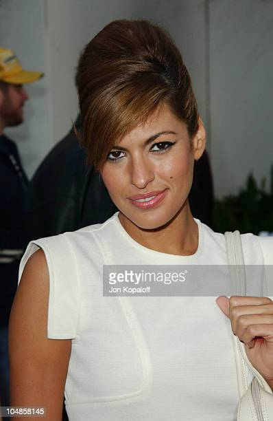 Eva Mendes during The World Premiere of '2 Fast 2 Furious' at Universal Amphitheatre in Universal City California United States