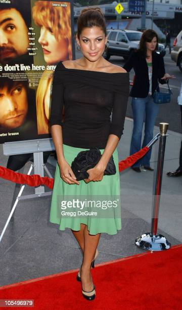 Eva Mendes during 'We Don't Live Here Anymore' Los Angeles Premiere Arrivals at Director's Guild of America in Hollywood California United States