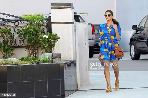 Eva Mendes is seen on August 22 2012 in Los Angeles California