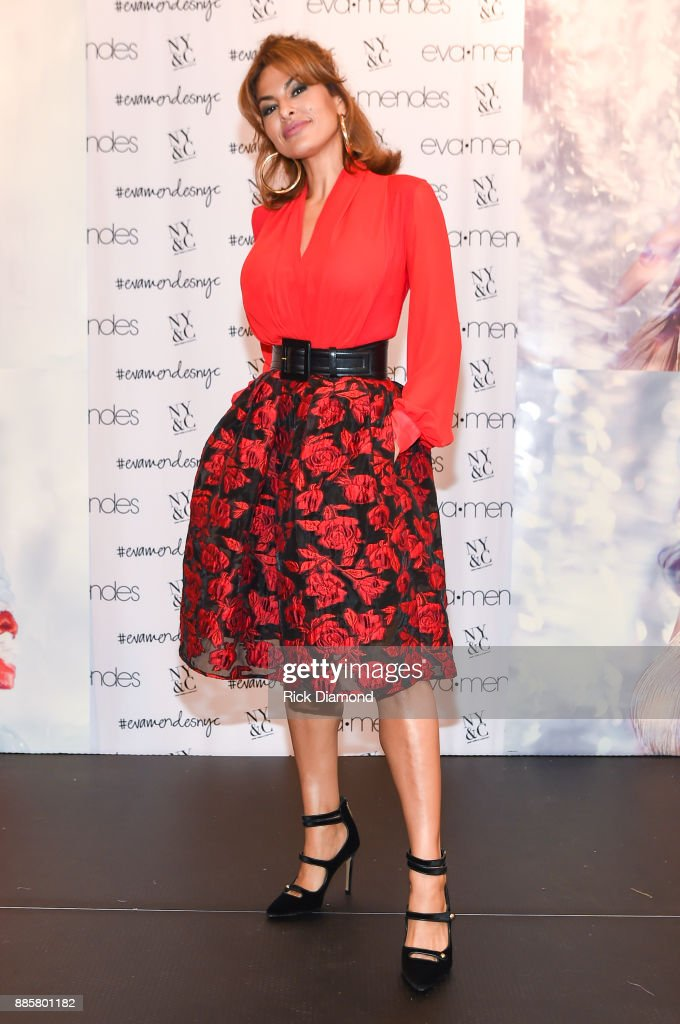Eva Mendes Launches Holiday Collection In Atlanta, GA