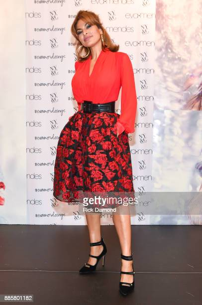 Eva Mendes launches the Holiday Collection at New York Company on December 3 2017 in Snellville Georgia