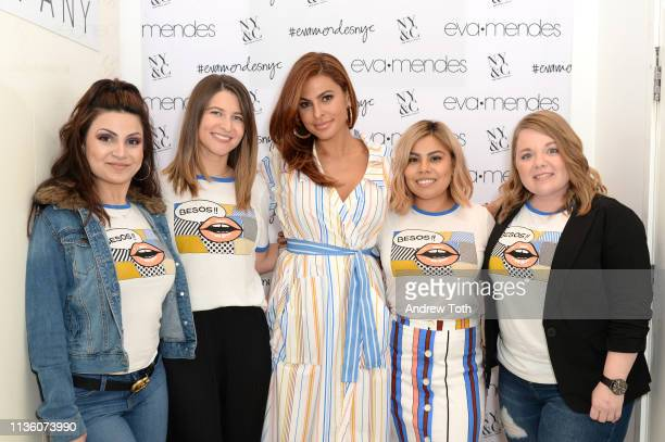 Eva Mendes visits New York Company Store on March 15 2019 in Burbank California