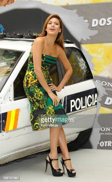 Eva Mendez attends 'Los Otros Dos' photocall at the Santo Mauro Hotel on November 11 2010 in Madrid Spain