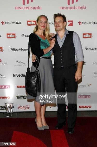 Eva Mona Rodekirchen and Bjoern Geske attend the Music Meets Media 2013 Award at Grand Hotel Esplanade on September 5 2013 in Berlin Germany
