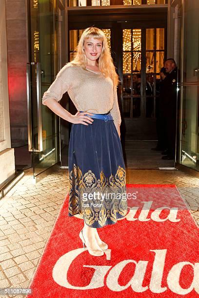 Eva Mona Rodekirchen attends the 'Berlin Opening Night Of GALA UFA Fiction on February 11 2016 in Berlin Germany