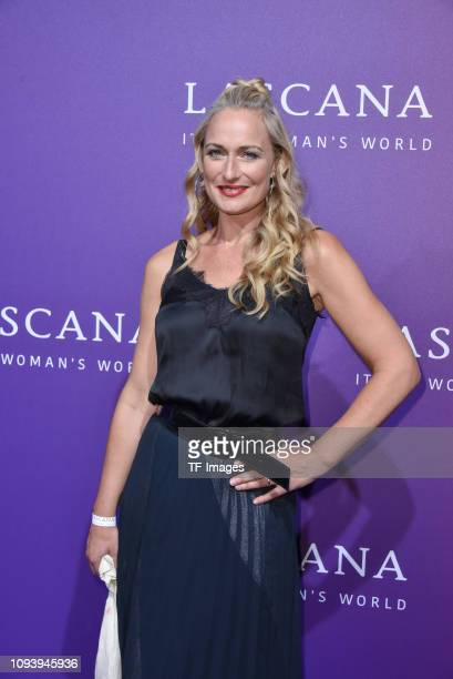 Eva Mona Rodekirchen attends the Lascana show during the Berlin Fashion Week Spring/Summer 2019 at Hotel nhow on July 2 2018 in Berlin Germany