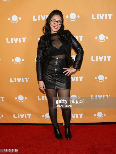 Eva Montoya attends Trip 'R' Treat with LIVIT LA's Largest Live Streaming Competition on October 30 2019 in Hollywood California