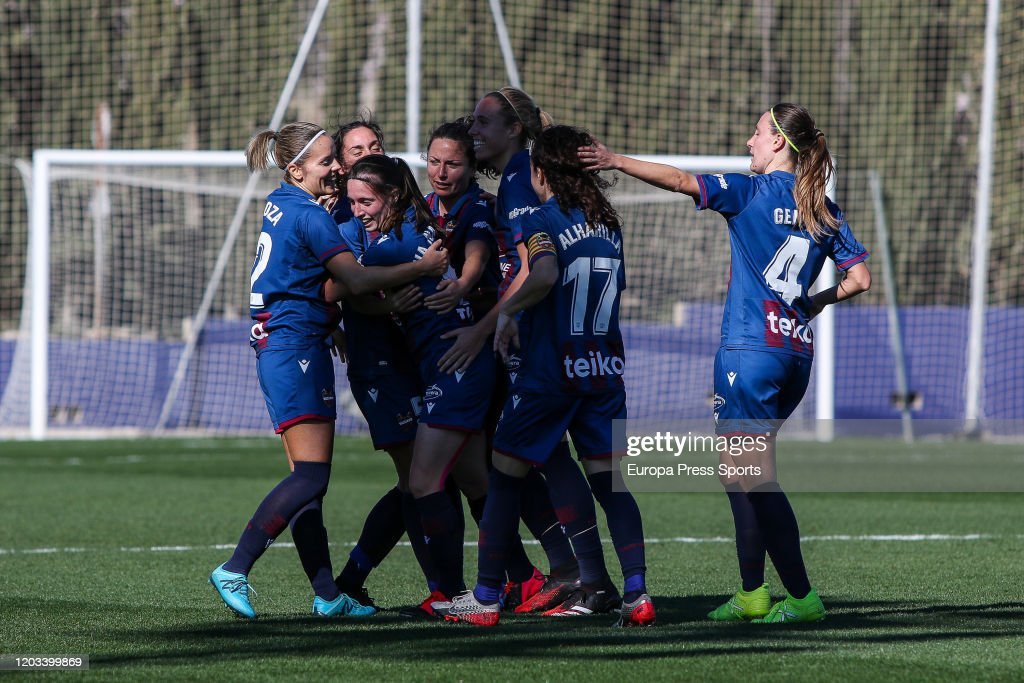 Women: Levante UD V Granadilla Tenerife : News Photo