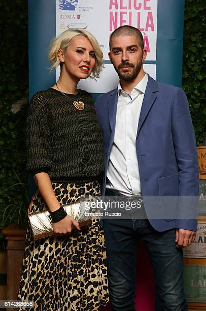 Eva Nestori and Michele Riondino are seen on October 12 2016 in Rome Italy