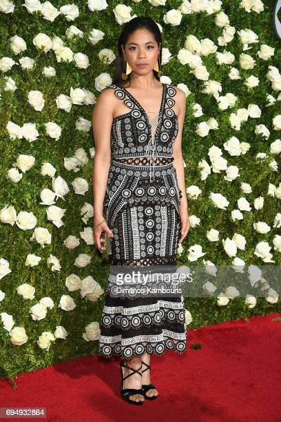 Eva Noblezada attends the 2017 Tony Awards at Radio City Music Hall on June 11 2017 in New York City