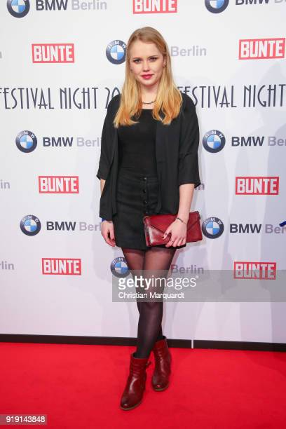 Eva Nuernberg attends the BUNTE BMW Festival Night on the occasion of the 68th Berlinale International Film Festival Berlin at Restaurant Gendarmerie...