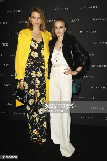 Eva Padberg and Cosima Auermann during the Bulgari 'RVLE YOUR NIGHT' event during the 68th Berlinale International Film Festival on February 15 2018...