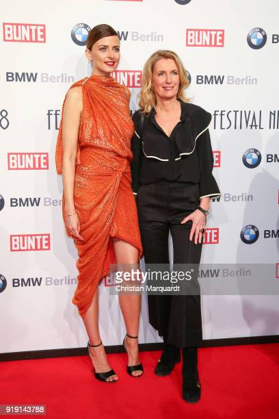 Eva Padberg and Maria Furtwaengler attend the BUNTE BMW Festival Night on the occasion of the 68th Berlinale International Film Festival Berlin at...