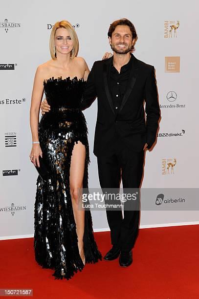 Eva Padberg and Simon Verhoeven attend the Red Carpet for the Bambi Award 2011 ceremony at the RheinMainHallen on November 10 2011 in Wiesbaden...