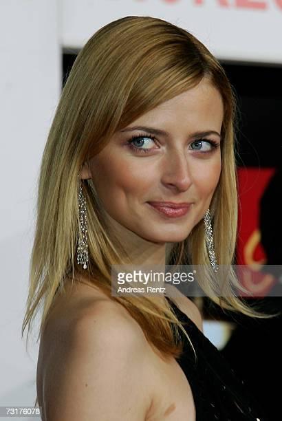 Eva Padberg arrives at the 42nd Goldene Kamera Award at the UllsteinArena on February 1 2007 in Berlin Germany