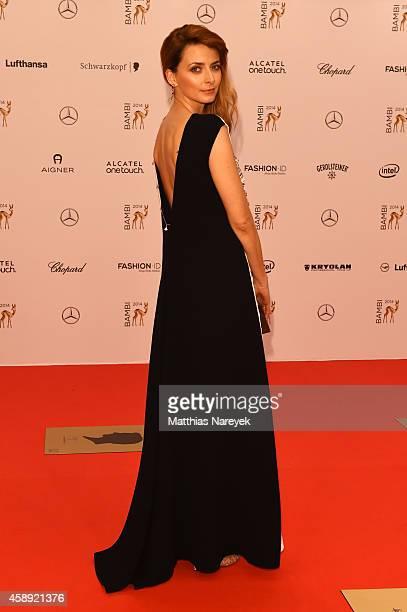 Eva Padberg arrives at the Bambi Awards 2014 on November 13 2014 in Berlin Germany