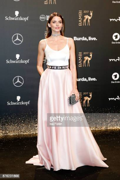 Eva Padberg arrives at the Bambi Awards 2017 at Stage Theater on November 16 2017 in Berlin Germany