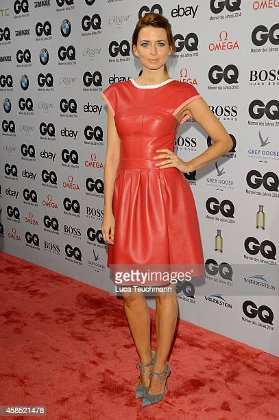 Eva Padberg arrives at the GQ Men of the Year Award 2014 at Komische Oper on November 6 2014 in Berlin Germany