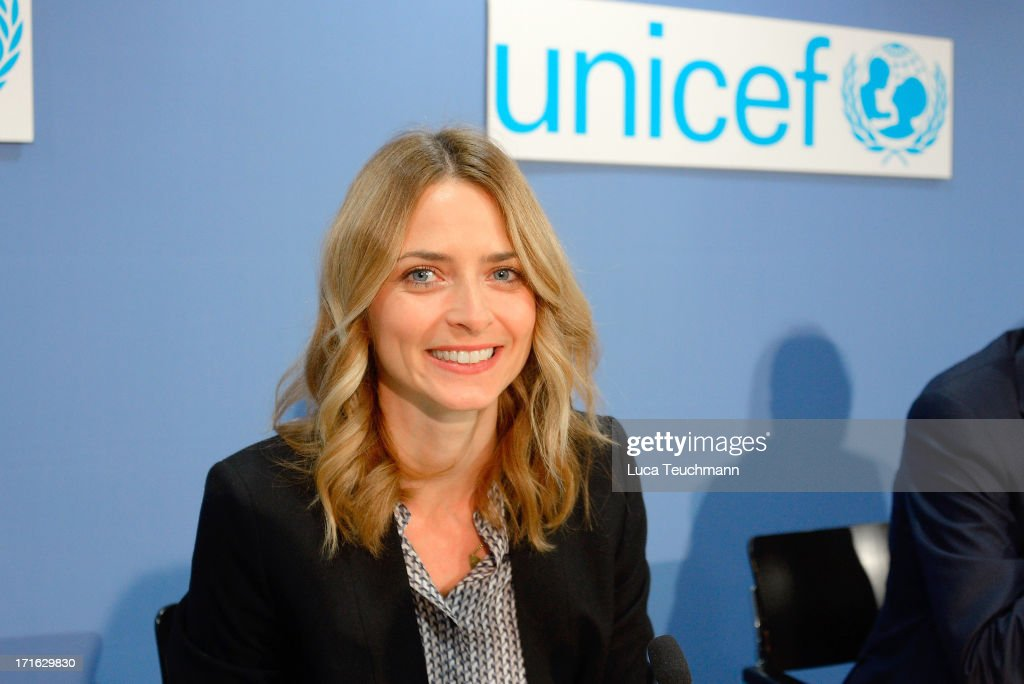 60 Years UNICEF Germany - Press Conference And Photocall