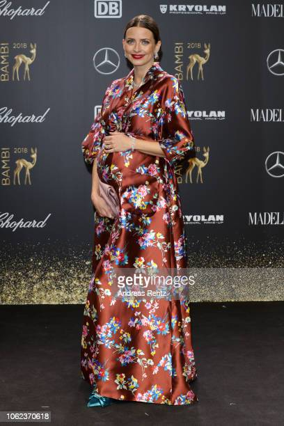 Eva Padberg attends the 70th Bambi Awards at Stage Theater on November 16 2018 in Berlin Germany