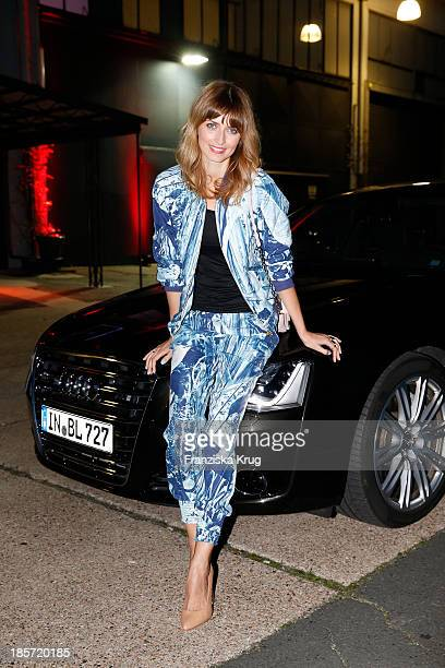Eva Padberg attends the Audi Fashion Award 2013 at Magnus Hall Hamburg on October 24 2013 in Hamburg Germany