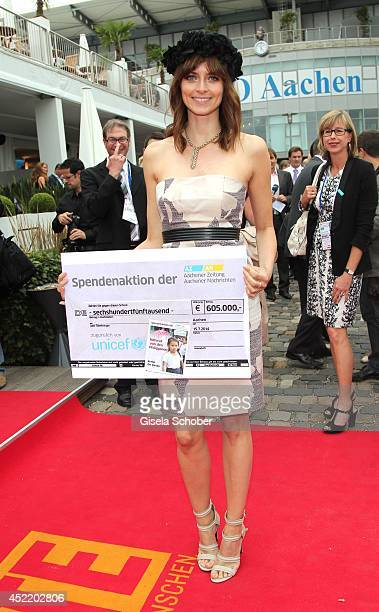 Eva Padberg attends the CHIO 2014 media night on July 15 2014 in Aachen Germany