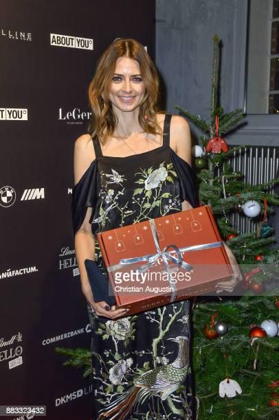 Eva Padberg attends the Christmas Dinner Party of Lena Gercke at the Bar Hygge on November 30 2017 in Hamburg Germany