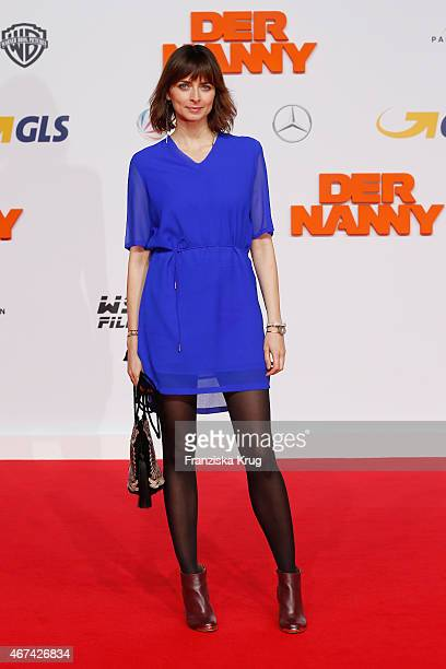Eva Padberg attends the 'Der Nanny' German Premiere on March 24 2015 in Berlin Germany