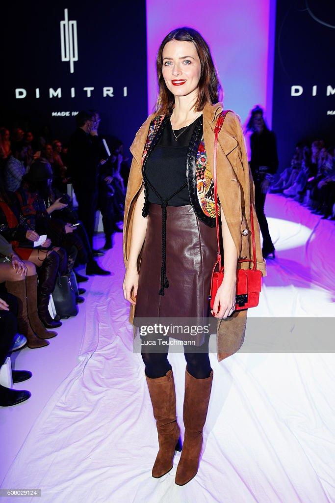 Dimitri Arrivals - Mercedes-Benz Fashion Week Berlin Autumn/Winter 2016