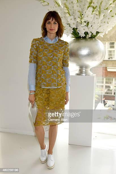 Eva Padberg attends the GALA Fashion Brunch Summer 2015 at Ellington Hotel on July 10 2015 in Berlin Germany