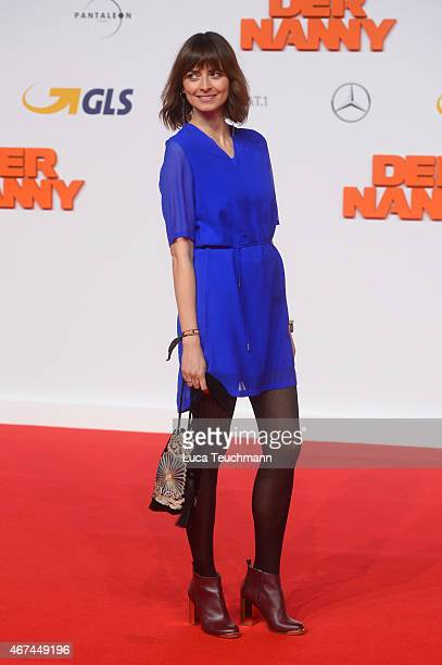 Eva Padberg attends the German premiere of the film 'Der Nanny' at CineStar on March 24 2015 in Berlin Germany