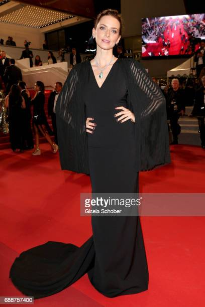 Eva Padberg attends the In The Fade screening during the 70th annual Cannes Film Festival at Palais des Festivals on May 26 2017 in Cannes France