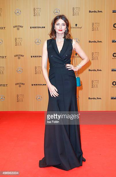 Eva Padberg attends the Kryolan At Bambi Awards 2015 Red Carpet Arrivals on November 12 2015 in Berlin Germany
