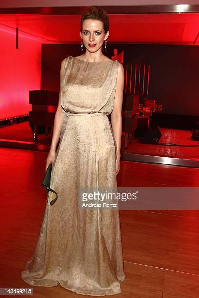 Eva Padberg attends the Lola German Film Award 2012 Party at FriedrichstadtPalast on April 27 2012 in Berlin Germany