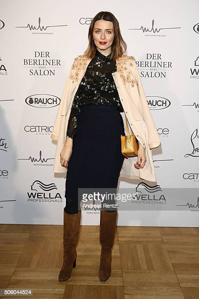 Marina Manseder Arrivals Mercedes Benz Fashion Week Berlin Autumn Winter 2016