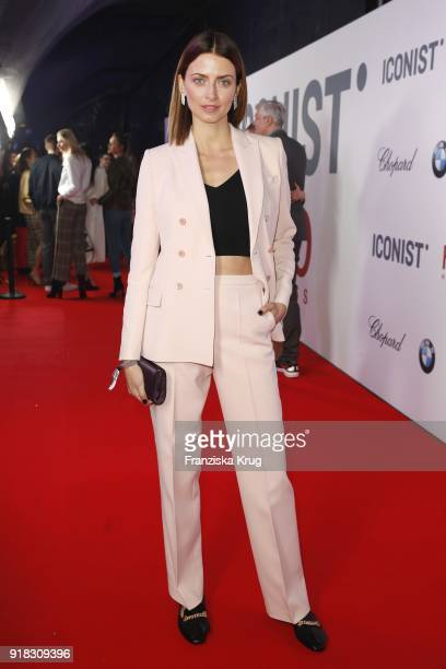 Eva Padberg attends the Young ICONs Award in cooperation with ICONIST at SpindlerKlatt on February 14 2018 in Berlin Germany