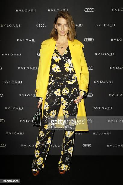 Eva Padberg during the Bulgari 'RVLE YOUR NIGHT' event during the 68th Berlinale International Film Festival on February 15 2018 in Berlin Germany