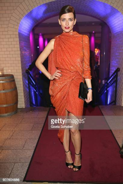 Eva Padberg during the BUNTE BMW Festival Night 2018 on the occasion of the 68th Berlinale International Film Festival Berlin at Restaurant...
