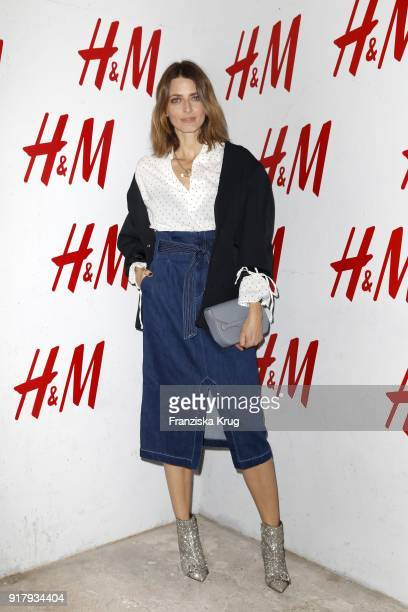 Eva Padberg during the Inter/VIEW X HM Party on February 13 2018 in Berlin Germany