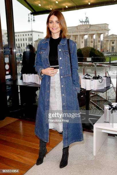 Eva Padberg during the Strenesse presentation during 'Der Berliner Salon' AW 18/19 at The Gate on January 16 2018 in Berlin Germany