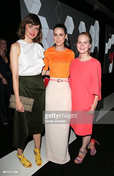 Eva Padberg Lena MeyerLandruth Alicia von Rittberg during the New Faces Award Fashion 2015 on July 16 2015 at P1 in Munich Germany