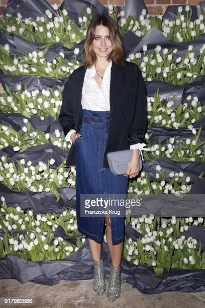 Eva Padberg wearing HM during the Inter/VIEW X HM Party on February 13 2018 in Berlin Germany
