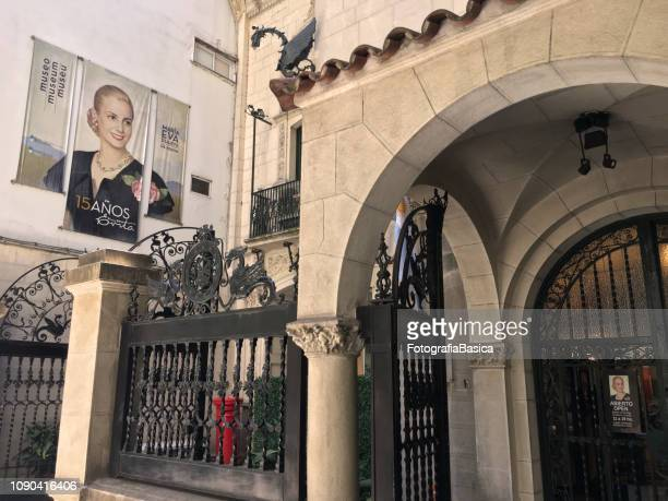 eva perón museum - evita museum stock photos and pictures