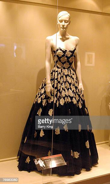 Eva Peron at the Bowers Museum in Santa Ana on loan from Museo Evita in Buenos Aires Argentina