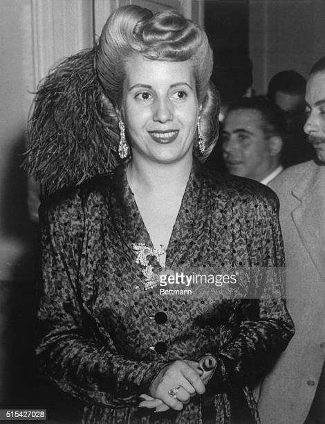 Eva Peron ca 1950